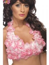 Hawaiian Flower Halterneck Top